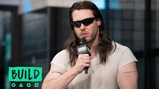 """Andrew W.K. Offers Motivational Speeches On """"You're Not Alone"""""""
