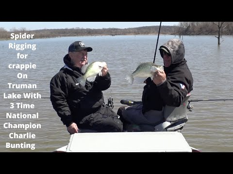 Spider Rigging For Crappie With Three Time National Champion Charlie Bunting #20 (3-21-2020)