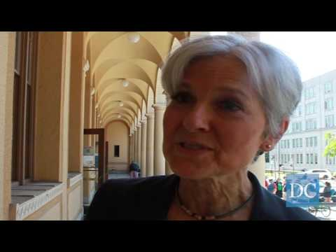 Green Party presidential candidate Jill Stein visits Downtown Berkeley