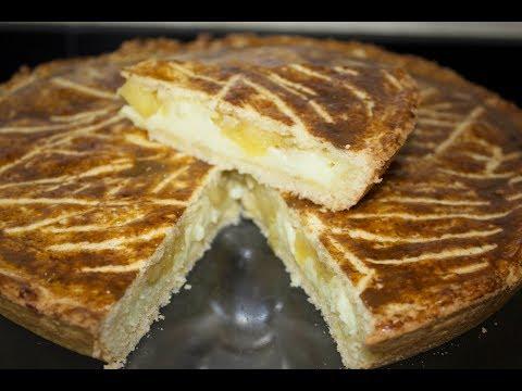 طورطة ب التفاح و الكريمة ساهلة و لذيذة 🍎La tarte aux pommes🍎 halawiyate khadija