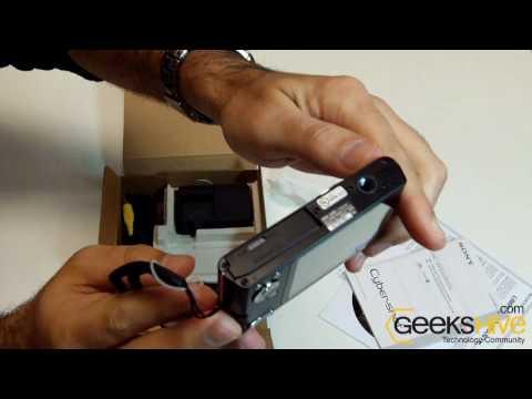Sony Cyber-Shot DSC-W320 14.1 MP Digital Camera (DSC-W320) Unboxing By Geekshive.com