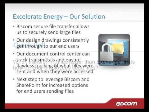 Increasing File Transfer Efficiency and Visibility at Excelerate Energy