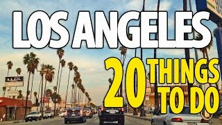 20 BEST THINGS TO DO IN LOS ANGELES Top Attractions LA Travel Guide