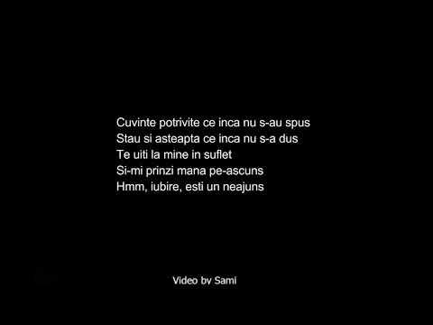 Claudia - Cuvinte potrivite | Versuri / Lyrics