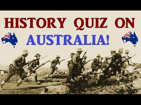 Trivia Quiz on Australian History! - Testing Your Neurons