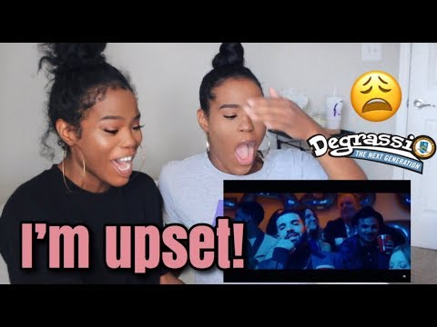 TWINS REACT TO DRAKE- I'M UPSET OFFICIAL MUSIC VIDEO| BRINGING DEGRASSI BACK