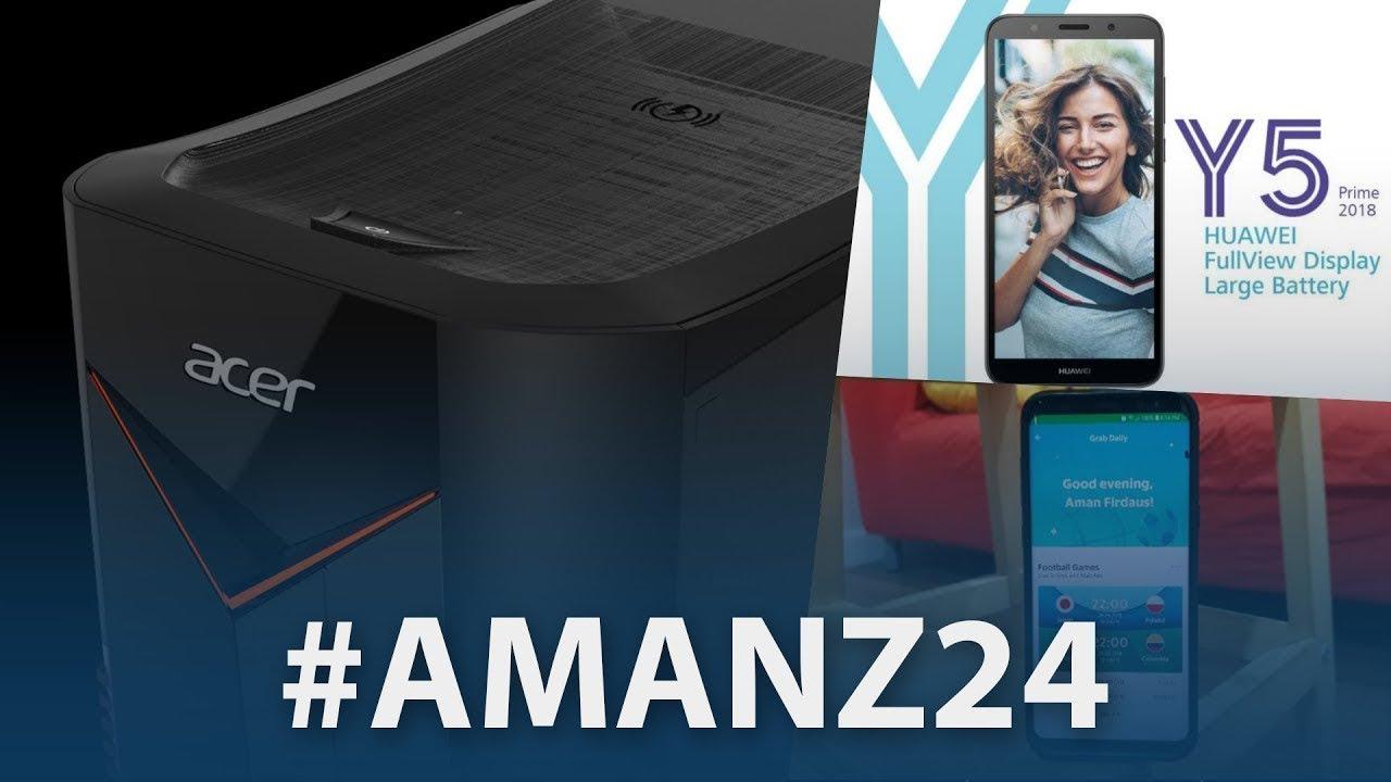 #Amanz24 - Komputer Baru Acer, Pengumuman Galaxy Note 9 Pada 9 Ogos, Instagram Stickers