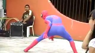 Spiderman más tonto del mundo (Fail)
