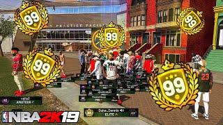 99 OVERALL REACTION NBA 2K19! Duke Dennis Helps 99 Overall Playmaker Sharp hit 99 overall NBA 2K19
