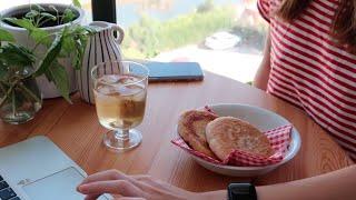 Dailylog#34  |  Kahvaltı, kore pancake, sandviç ve biraz tofu