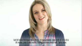 Only Tesco Mobile Triples your credit - February 2010 TV ad
