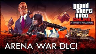 GTA Online Arena War DLC Announced! Coming Tomorrow!