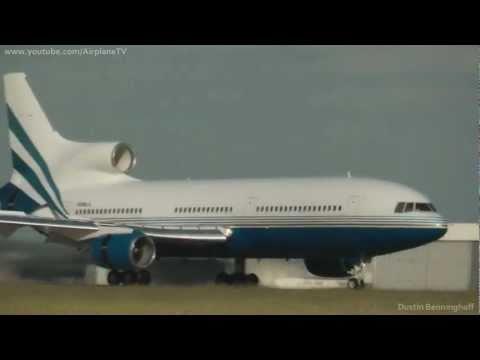 Las Vegas Sands Corp. - L1011 Tristar *N388LS* / Landing at Dusseldorf *23R*
