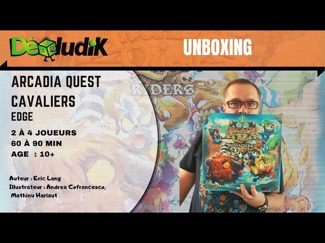 Arcadia Quest Cavaliers - Unboxing -  Edge - CMON