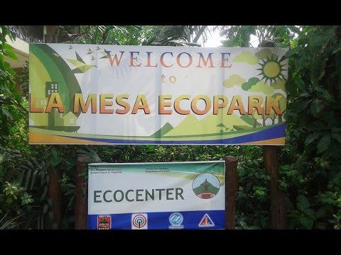 La Mesa Eco Park Quezon City. Philippines.