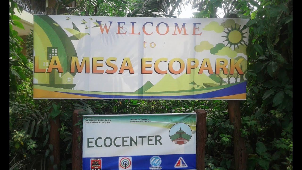 La Mesa Eco Park Quezon City Philippines Youtube