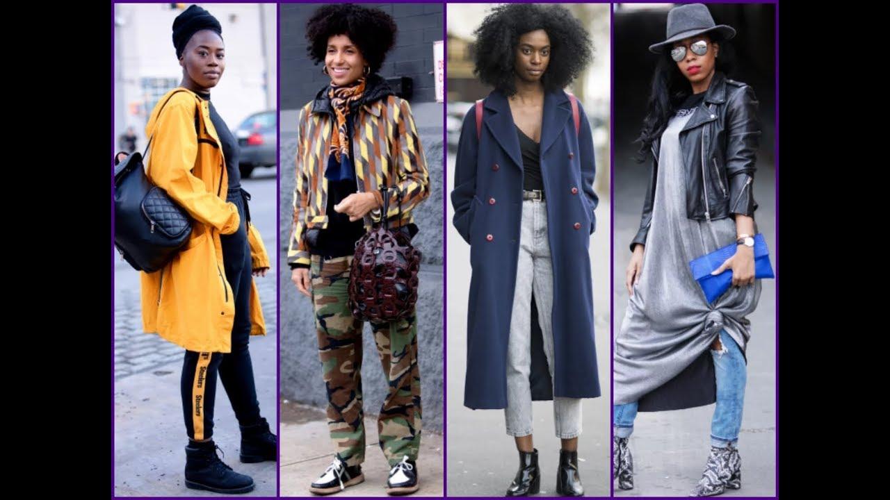 Fall/Winter Lookbook for Black Womens - The Best Street ...