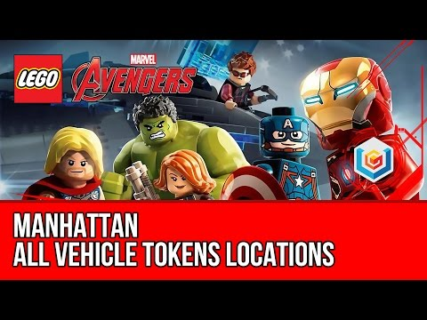LEGO Marvel's Avengers - Manhattan - All Vehicle Tokens Collectibles Locations (All Races)