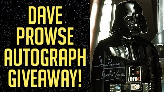 Dave Prowse Autograph Giveaway!