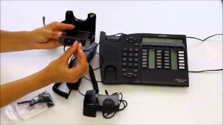 Tutoriel: branche casque Plantronics CS520 sur téléphone Alcatel Reflexes