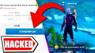 😂 **Sell your 1000 EURO SKIN GALAXY** AND HACKEO ACCOUNT OF FORTNITE CHILD RATA FORTNITE APIXELADOS