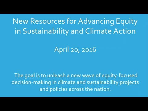Introduction to USDN's Equity Capacity Building Programs