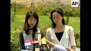 WRAP 2 kidnapped female Japanese tourists safely released; s