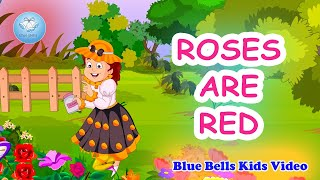 Roses Are Red I English Rhymes for Kids | Play with Rhymes - 1 | Blue Bells Kids Video