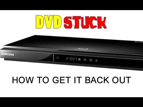 DVD stuck in Samsung D5700 DVD player