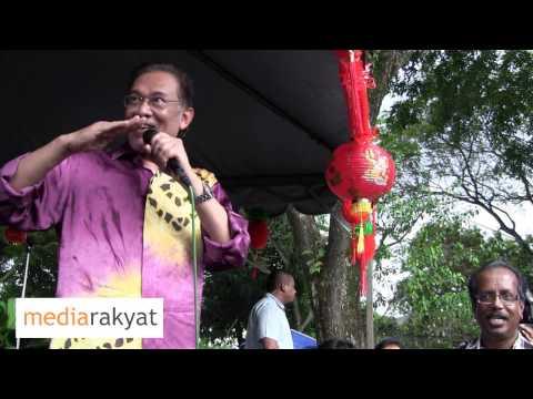 Anwar Ibrahim: Najib, Mahu Tegur Mahathir, Biar Abang Anwar Buat