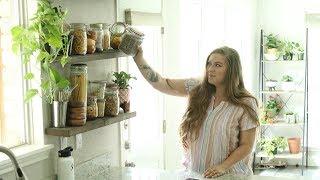 Zero Waste Kitchen Tour | Pantry & Fridge