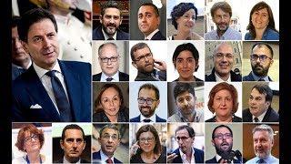 Il NUOVO GOVERNO CONTE: nuovi MINISTRI e nuove STRATEGIE POLITICHE
