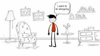 Online Shopping | 2D Animation | Let the Shopping Begin