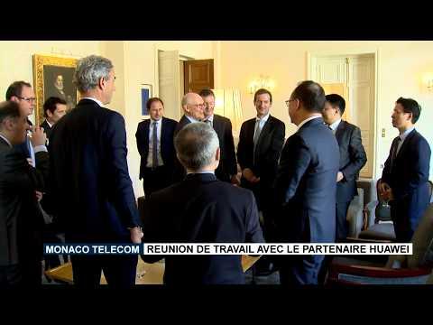 Monaco Telecom : Réunion de travail avec le partenaire Huawei