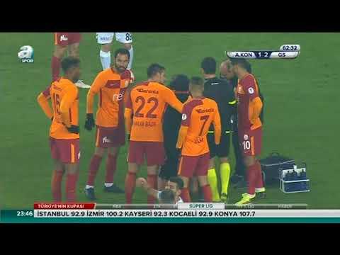 Atiker Konyaspor 2-2 Galatasaray | Geniş Özet  | ZTK Çeyrek Final | 01.02.2018 |
