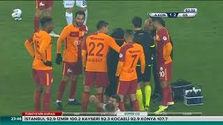 Atiker Konyaspor 2-2 Galatasaray | Geniş Özet  | ZTK Çeyrek Final | 01.02.2018 | a spor