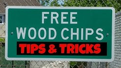 Get Free Wood Chips: 8 Tips and 3 Tricks