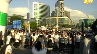 Malaysia Cergas FUN RUN Standard Chartered @ HBN 2011