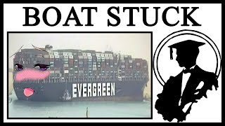 I'm Stuck, Stepboat! The Evergreen Suez Canal Story Through Memes