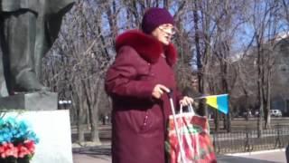 Луганськ. День Народження Кобзаря, 2016 рік.