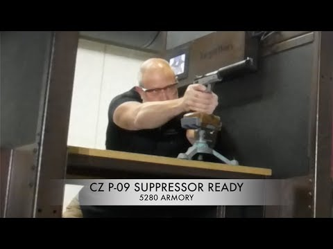 CZ P-09 9mm Suppressor Ready 9mm Pistol At 5280 Armory