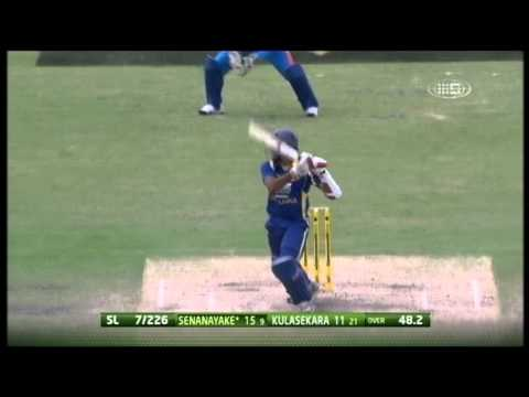 Commonwealth Bank Series Match 5 India vs Sri Lanka - Highlights