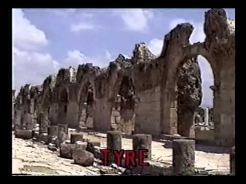 The History of Lebanon, The Phoenician cities of Sidon and Tyre