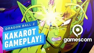 17 Minutes of Dragon Ball Z: Kakarot Gameplay - Gamescom 2019