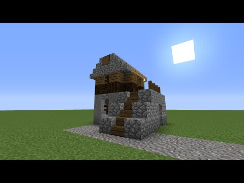 Minecraft | Let's Build | Small Medieval Village House