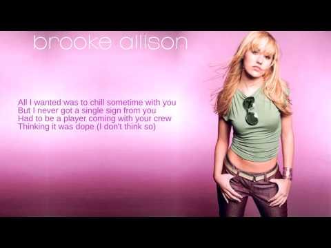 Brooke Allison: 03. Toodle-Oo (Lyrics)