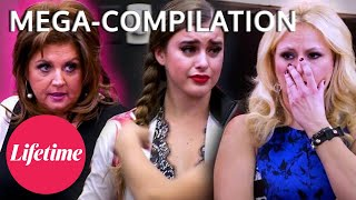 MOST CHAOTIC LAST MINUTE Rehearsals & Reblocks - Dance Moms (Flashback MEGA-Compilation) | Lifetime
