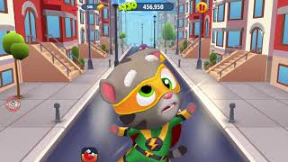 Game For Kids Talking Tom Gold Run Android Gameplay - Talking Tom Catch the Raccoon #259