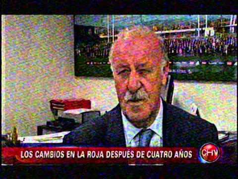 VICENTE DEL BOSQUE  TEME A CHILE