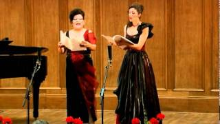 11 Felix M. Bartholdy - Abendlied-Cristina Grigoras si Gianina Ribana Cretu